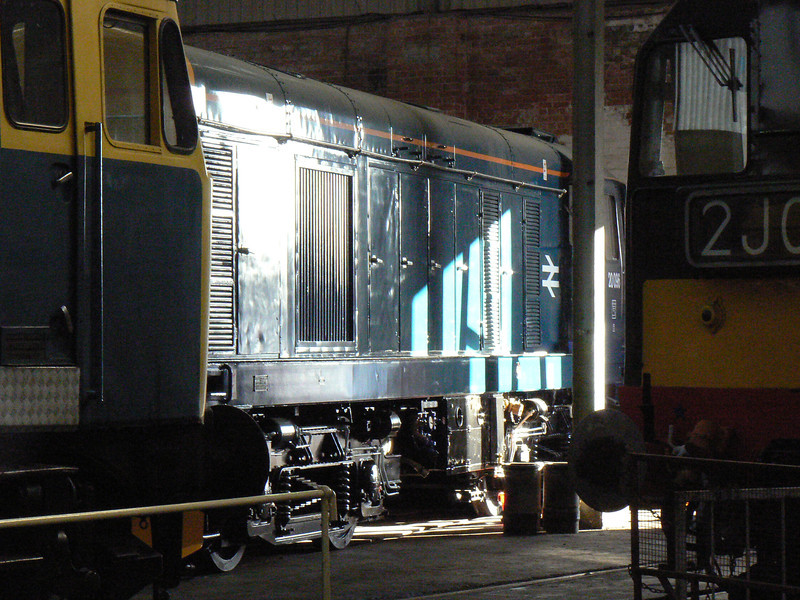 20096 at Barrow Hill Roundhouse. Saturday 30th January 2010.