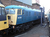 84001 at Barrow Hill Roundhouse. Saturday 30th January 2010.