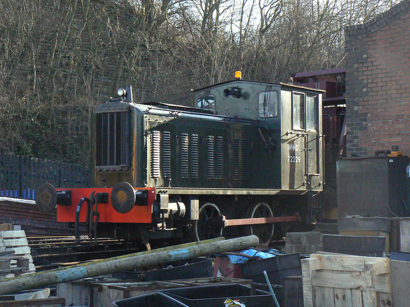WD 72229 VF 5265 / DC 2184 (Reb YEC L120) at Elsecar Heritage Centre. Saturday 30th January 2010.