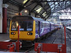 Northern Rail 142042 is seen on the buffer stops at Liverpool Lime Street. Saturday 20th October 2012.