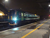 153371 waits at Bletchley in the early hours of Saturday 20th October 2012, ready to form 05:41 to Bedford.