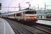 4 May 2002 :: SNCF Class 22200 electric locomotive no. 22258 standing at Chambéry Station
