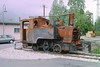 5 May 2002 :: Derelict 0-6-0T Tramway du Mont Blanc steam engine at Saint-Gervais-les-Bains-Le Fayet