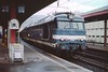 3 May 2002 :: SNCF Class 6700 diesel no. 67346 is in the station at Chambéry