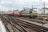 9 October 2003 :: SNCB Class 21 No. 2149 with a train of double deck stock approaching Brussels Midi