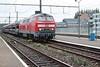 10 October 2003 :: DB Diesel 225 029 hauling an automotive train through Tongeren