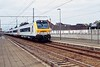11 October 2003 :: An SNCB driving trailer leads a train through Aalter