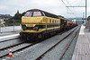10 October 2003 :: At Liège-Guillemins is SNCB Class 63 No. 6306 on an engineers train
