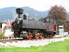 "7 July 2004 :: A closer look at 0-6-2T Zillertalbahn No. 1 ""Raimund"" on its plinth at Jenbach"