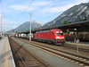 8 July 2004 :: DB 182 016 hauls a freight train through Jenbach