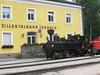 """7 July 2004 :: 0-6-2T Zillertalbahn No. 2 """"Zillertal"""" standing at Jenbach"""