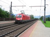 7 July 2004 :: With a freight train at Rattenberg-Kramsach is ÖBB 1016 007