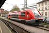 1 May 2004 :: DB light rail DMU 641 007 is stabled at Singen (Hohentwiel)