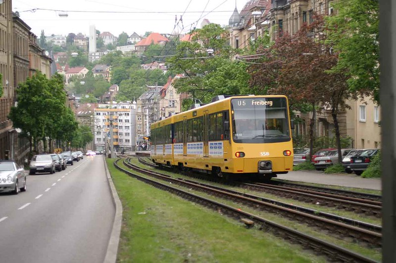 30 April 2004 :: Stuttgart Stadtbahn light rail unit on route U5