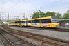 3 May 2004 :: Stuttgart Stadtbahn light rail unit on route U6 at Möhringen