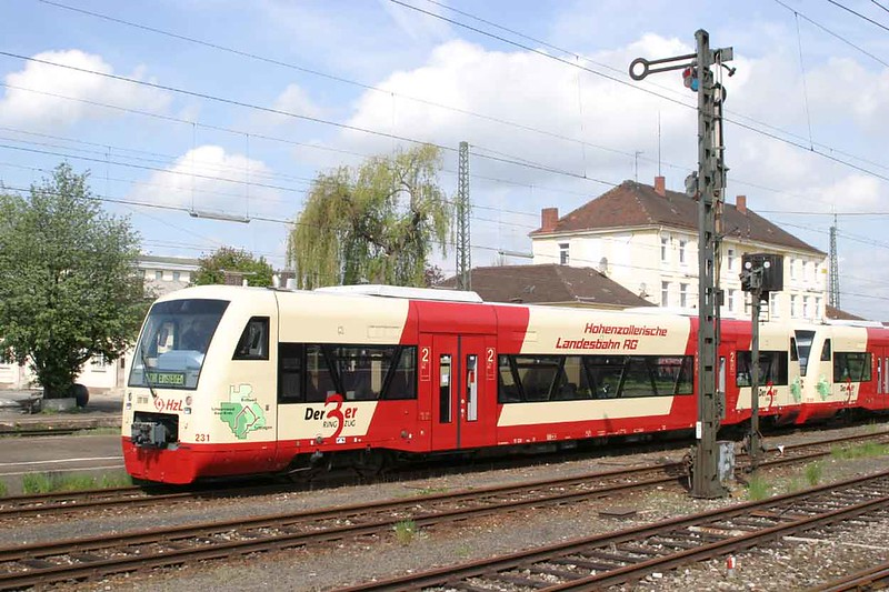 2 May 2004 :: Hohenzollerische Landesbahn no. 231 at Nördlingen