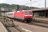 2 May 2004 :: DB 120 108 arriving at Ulm