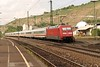 3 May 2004 :: DB 101 068 propels its passenger train away from  Esslingen