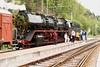 1 May 2004 :: Preparing to work a May day special train from Bad Herrenalb to Ettlingen is 1942 built a 2-10-0 Class 50 no. 50 3539