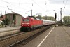 2 May 2004 :: Arriving at the station in Donauwörth is DB 120 124