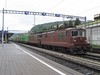 22 May 2004 :: A pair of Re 4/4 locomotives led by no. 189 work a north bound freight train through Speiz