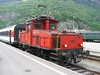 22 May 2004 :: Ee 3/3 Shunter 16370 moving coaches around Brig