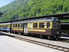 "17 May 2004 :: A closer look at Berner Oberland Bahn ABeh 4/4 no. 307 ""Wilderswil"" at Interlaken Ost"