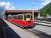 5 June 2004 :: A Schynige Platte Bahn train stands at Wilderswil