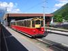 5 June 2004 :: A Schynige Platte Bahn train stands at Wilderswil