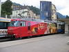 24 September 2004 :: Another MOB Golden Pass Ge 4/4 at Montreux.  No. 8004 advertising Cailler Swiss chocolate