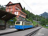 23 September 2004 :: Montreux-Vevey-Riveiera line Bhe2/4 no. 207 is at Caux
