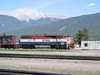 29 May 2005 :: Still in its BC Rail livery Dash 8, no. 4622 is at Jasper