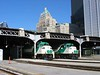 26 May 2005 :: Toronto Union Station with 2 General Motors EMD F59PH's no.s 521 & 529 with the Fairmont Royal York Hotel in the background