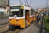 1 May 2005 :: Budapest tram on line 56 at Hűvösvölgy