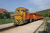 30 April 2005 :: On the Királyrét Forest Railway which runs between Kismaros and Királyrét is Mk 48 2031