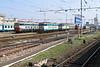 17 July 2005 :: A number of locomotives outside Milan Central Station