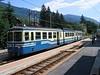 16 July 2005 :: At Santa Maria Maggiore on the Centovalli Railway an ABe8/8 makes a call on a Domodossola to Locarno service