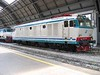 17 July 2005 :: E.632 class Italian electric locomotive no. 632 08 at Milan Central Station