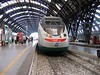 "17 July 2005 :: A Trenitalia ""Eurostar"" in Milan Central Station"