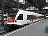 10 May 2005 :: At Luzern Station is this new Stadler built 523 011EMU waiting to form a service to Baar