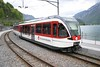 9 May 2005 :: The new order on the route between Interlaken Ost and Meiringen in the form of Stadler built 130 003 seen at Brienz with Lake Brienz in the background