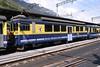 "9 May 2005 :: BOB ABeh 4/4 no. 312 ""Interlaken"" is seen mid train at Interlaken Ost"