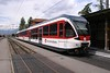 9 May 2005 :: New ZB 130 003 waits at Meiringen to form an afternoon service to Interlaken Ost