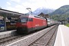 9 May 2005 :: SBB 460 096 makes a call at Interlaken West with a west bound train from Interlaken Ost