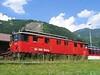 19 June 2005 :: Still in the SBB Brünig livery at Meiringen is De 110 004