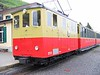 """25 June 2005 :: In colours matching the coaches, Schynige Platte Bahn He 2/2 no. 11 """"Wilderswil"""" at Schynige Platte"""