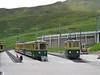 23 June 2005 :: A line of  WAB BDhe 4/4's at Kleine Scheidegg