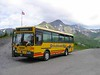 25 June 2005 :: A decision was made to travel from Meiringen to Grindelwald by bus over extremely scenic alpine roads and seen at the halfway rest point of Grosse Scheidegg is the bus I travelled on