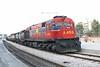 12 May 2006 :: Organismos Sidirodromon Ellados (OSE) Class 451 Bo Bo no. A469 with a freight train passing through Athens Station