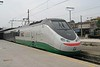 8 May 2006 :: A Trenitalia ETR 500 with the Eurostar Italia branding is pictured at Firenze SMN.  Note the special livery on the coaches promoting 'trenitalia.com'